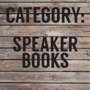 Speaker Books (Amazon Purchase)